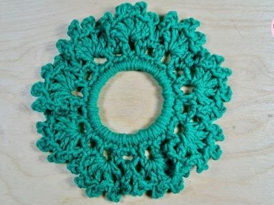 Coleta o colets a crochet Nº 3 paso a paso (versión diestra)