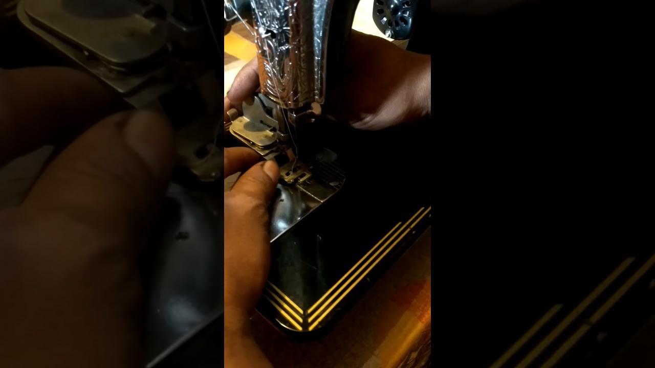 Como colocar aparato para zig zag en máquina clásica