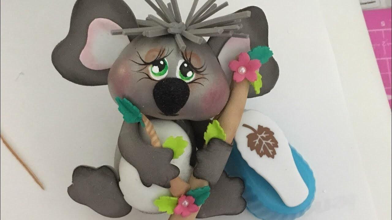 Cómo hacer Fofucho Koala enamorado PASO A PASO