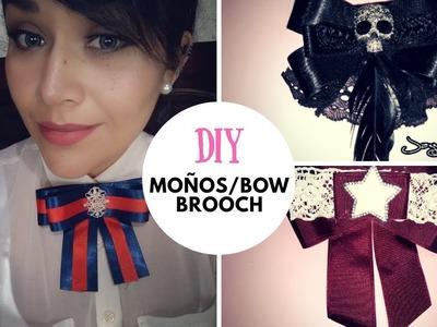 Como hacer moños bow brooch -  moños en tendencia - moños tipo gucci - jazz mint