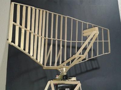 Como hacer una Antena de Radar con palitos de paleta
