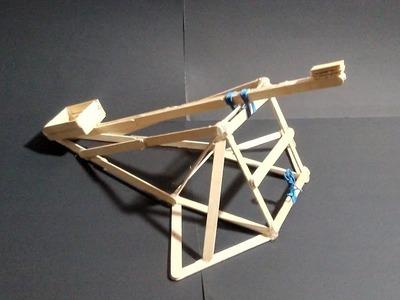Como hacer una Catapulta