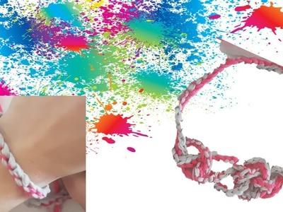 Cordón a dos Colores crochet