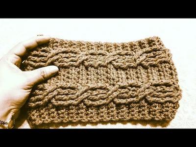 ????Diadema INVIERNO a Crochet(ganchillo)