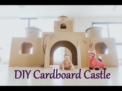 DIY Cardboard Castle | Construcción de Castillo de Princesa de Cartón