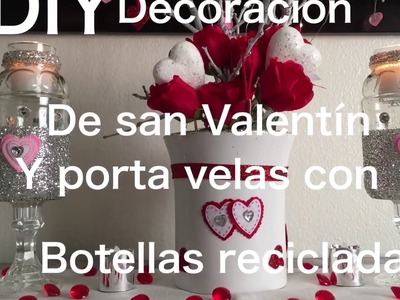 DIY Centro de mesa para San Valentín super económico