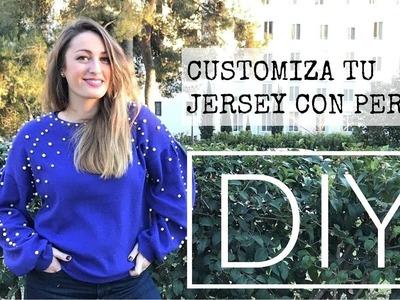 DIY - Como customizar jersey, Inspiración ZARA | Lorena Gil