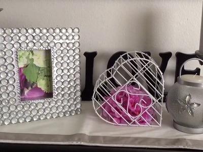 DIY como restaurar porta retrato y Decoracion para el hogar