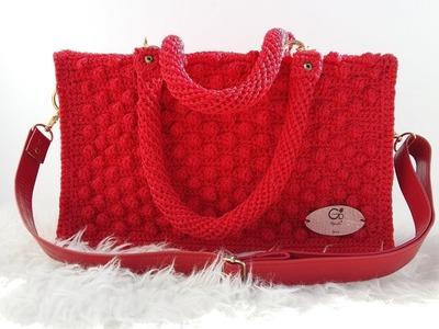 """""""DIY""""  Tutorial de Asa Tubular A  Crochet, """"REFORZADA """" GENIAL"""