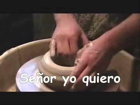 """""""EL ALFARERO"""", YO QUIERO SER UN VASO NUEVO, TOMA MI BARRO Y HASME DE NUEVO"""