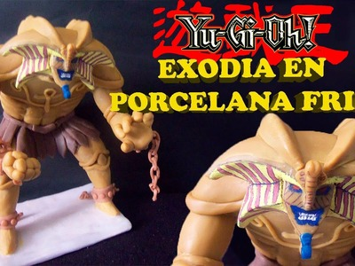 Escultura de Exodia el Prohibido en Porcelana Fría (Yu-Gi-Oh!)