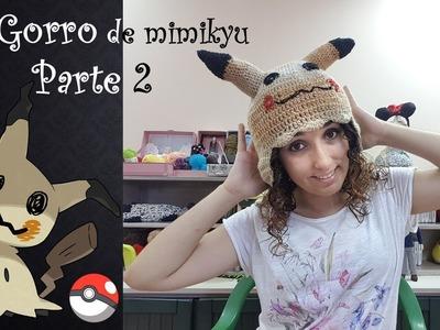 Gorro de mimikyu parte 2 #Crochet #Gorro #Mimikyu #Pokemon