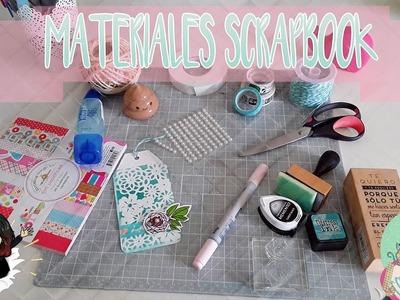 ♦Hablemos de los materiales que utilizo para Scrapbook♦