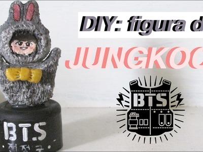 K-POP DIY: JUNGKOOK de BTS (방탄소년단) en Porcelana fria | DIY with Sofia