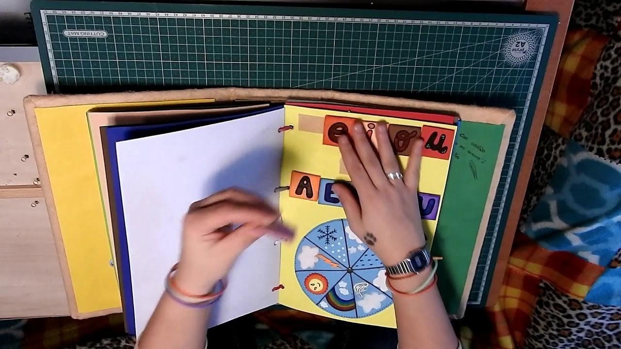 Libro aprendizaje para niños.didactico.estimulacion.manualidades.sensorial.educativo