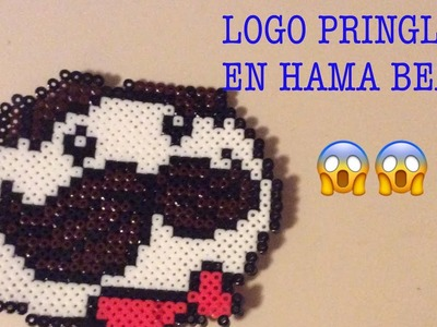 LOGO DE PRINGLES EN HAMA BEADS!!