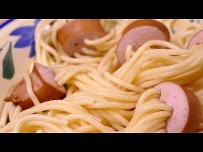Los espagueti más divertidos de hacer para niños ¡COMPRUÉBALO!