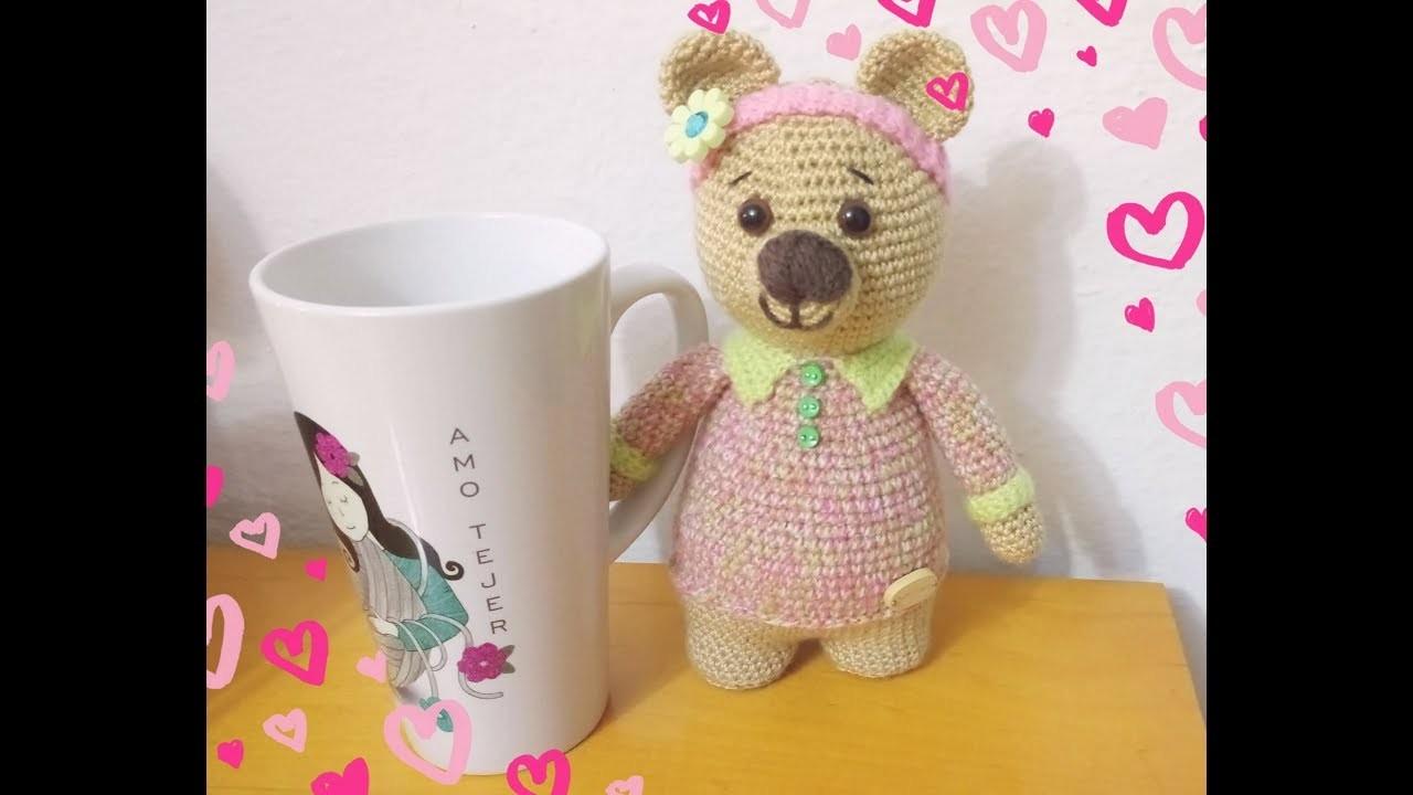 Materiales Osa Yoya Amigurumi a Crochet