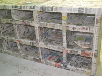 Muebles de cartón barra de cocina decorando la casa con Lety parte 1