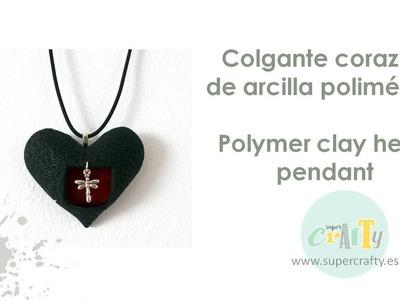 San Valentín: haz un colgante de corazón de arcilla polimérica