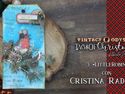 Tags Of Christmas - Reto 3 con Cristina Radovan