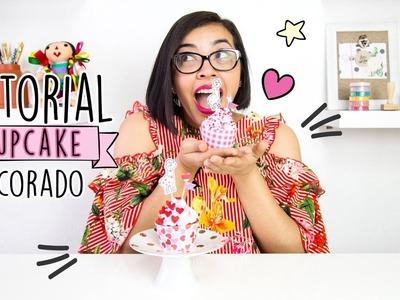 Tutorial Decora un Cupcake con la DIY Party Board y Sellos de Micaela Ferrero *En Español*