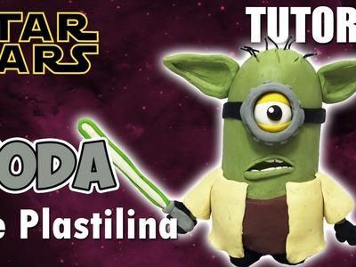 Tutorial Minion Yoda (Star Wars) de Plastilina