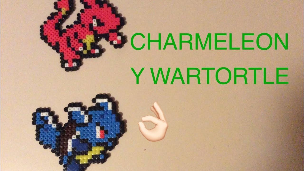 WARTORTLE Y CHARMELEON EN HAMA BEADS!!!