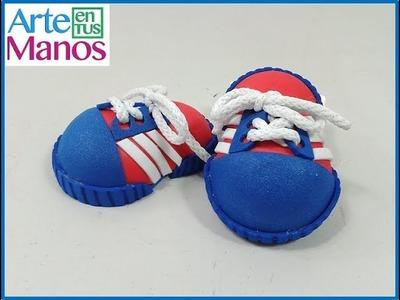 Zapatos deportivos para fofuchos paso a paso
