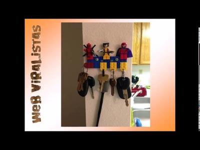 20 Objetos Hechos Con Piezas de Lego