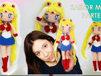 Amigurumi muñeca Sailor Moon (parte 3.5)