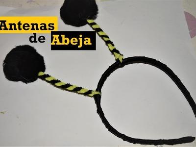 Antenas de Abeja - Diadema decorada #3 - Tutorial - DIY - AnabelMonGar
