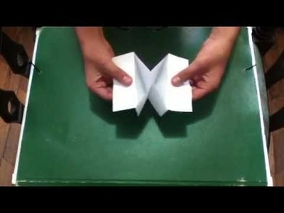 Canasta de origami - Cajita con papel