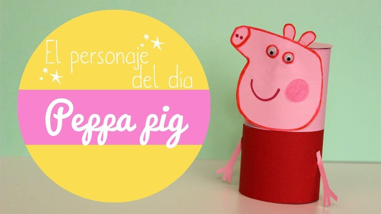 ¿Cómo hacer manualidades de la peppa pig?