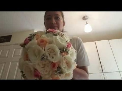 Como hacer un bouquet de novia
