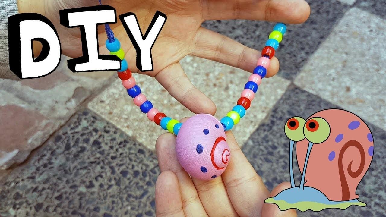 DIY - Collar de GARY el Caracol | Craft Attack
