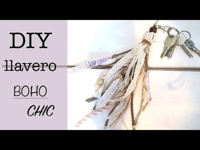 DIY COMO HACER UN LLAVERO BOHO CHIC