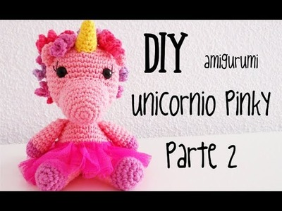 Amigurumi Unicornio PDF TUTORIAL Crochet PATTERN unicorn | 300x400