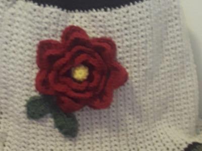Flor Juanita a crochet
