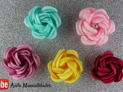 Flor Mini Pelota | Anita Manualidades