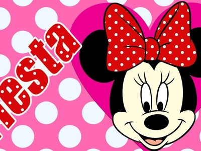 Minnie Mouse: 10 Ideas divertidas de MANUALIDADES para hacer una fiesta de cumple