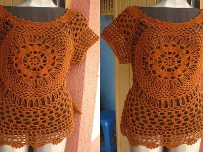 Nuevas Prendas Tejidas a Crochet o Gancho