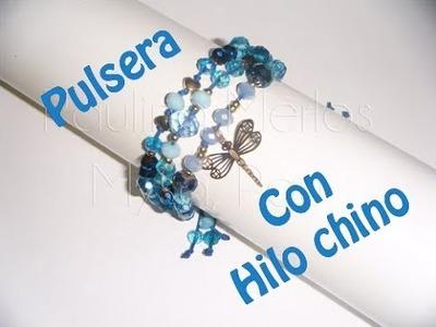 Pulsera con Hilo chino