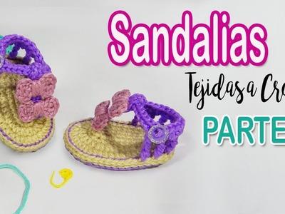 Sandalia con doble Moño | parte 1.2