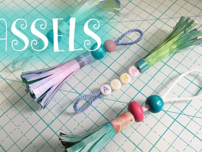 TASSELS de PAPEL ✩ DIY ✩ TUTORIAL