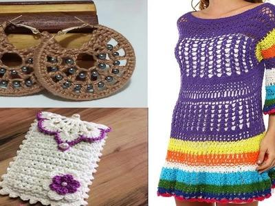 Tejidos a con Lana y Hilo. Crochet Fácil