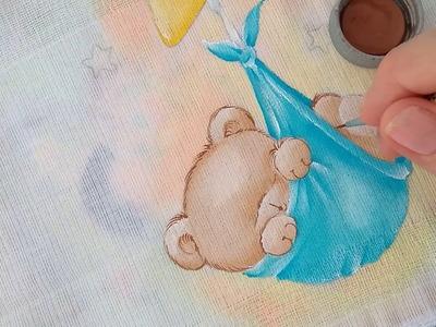 Urso na estrela | Parte 2 | Márcia Suelí - Cantinho de Pintura