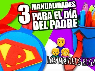 3 MANUALIDADES PARA REGALAR EL DÍA DEL PADRE Manualidades DIY