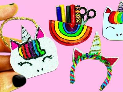 4 Manualidades de Unicornio en Miniatura  -  Manualidades Para Muñecas