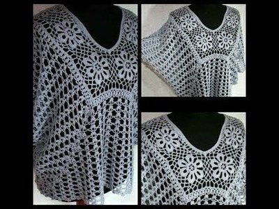 Bluson crochet todas las tallas